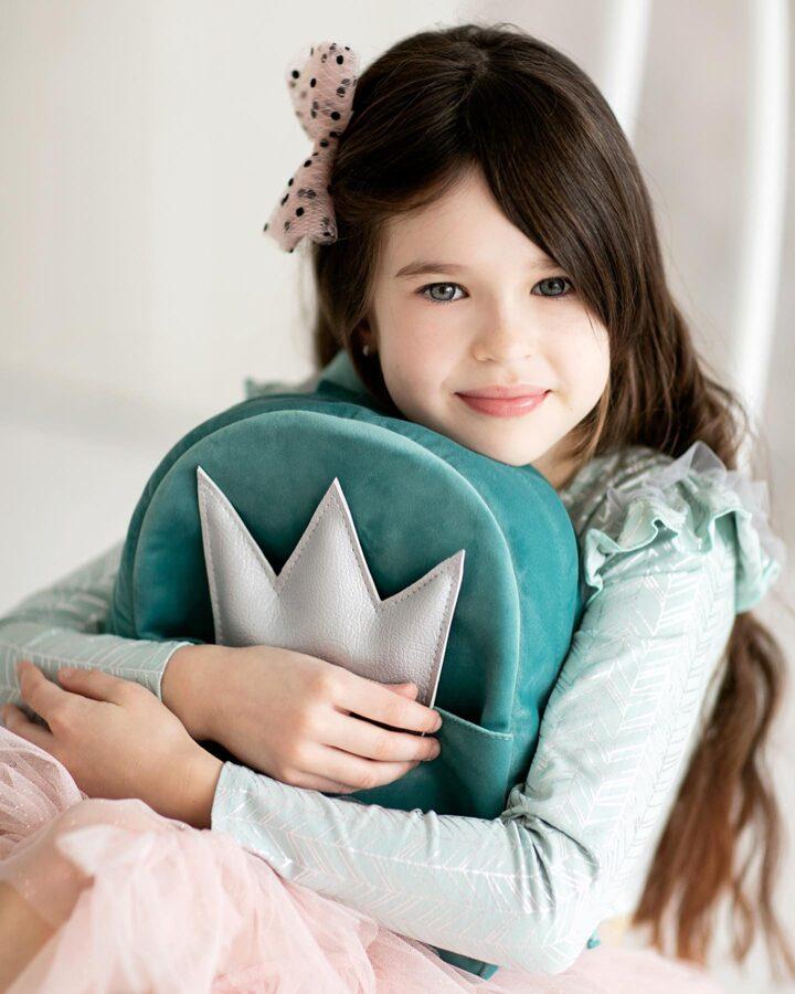 """Vaikiška kuprinė """"Princesės deimantas"""""""